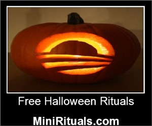 Simple halloween ritual to attract money